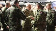 Ministrowie obrony odwiedzili NATO-wskich żołnierzy