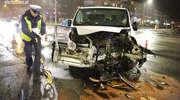 Groźny wypadek na olsztyńskich Jarotach. Dwóch kierowców trafiło do szpitala [ZDJĘCIA]