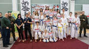 Znakomity start karateków podczas turnieju w Giżycku. Medale trudno było upchnąć do worka