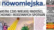 """Już jutro świąteczny, powiększony numer """"Gazety Nowomiejskiej"""""""