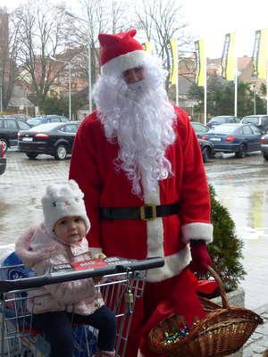 Mikołaj był w Tu i Teraz w Biskupcu. Zobacz zdjęcia!