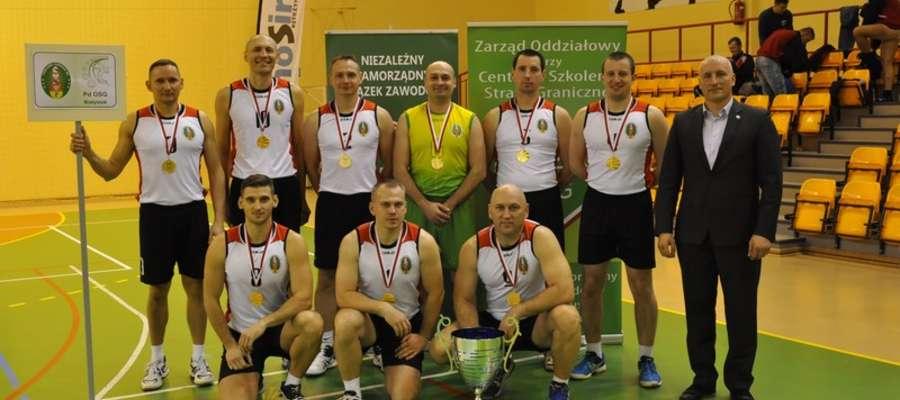 Drużyna Podlaskiego Oddziału Straży Granicznej obroniła mistrzowski tytuł