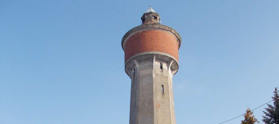 wieża ciśnień w Olsztynku