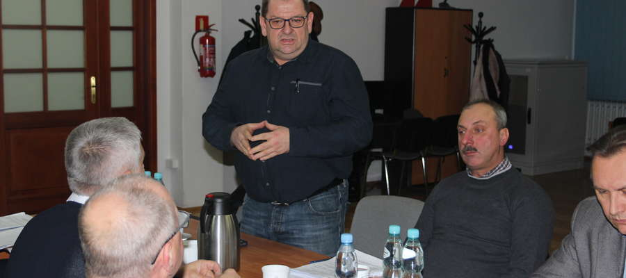 Komendant Włodzimierz Wiśniewski przekonywał, że w OSP Poniatowo warto inwestować.