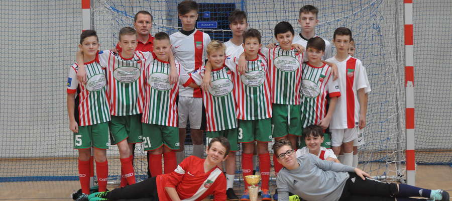Wkra Żuromin triumfowała w turnieju o Puchar Prezesa
