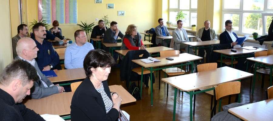 Zebranie osiedla Kościuszki w maju bieżącego roku