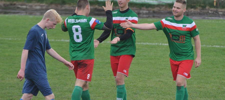 Wkra Żuromin rozegrała siedem spotkań przy Żeromskiego fot. mo