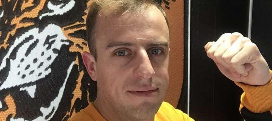 Kamil Grosicki włączył się do akcji charytatywnej organizowanej dla Łukasza Sółkowskiego