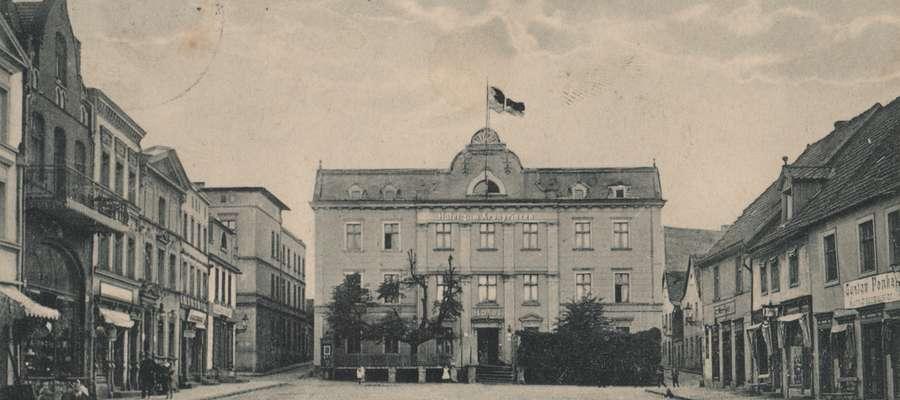 W Iławie komitet plebiscytowy wynajął cały Hotel zum Kronprinzen, znajdujący się na rynku staromiejskim