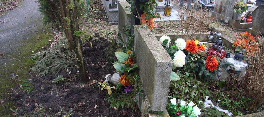Dziki cmentarz komunalny Olsztyn