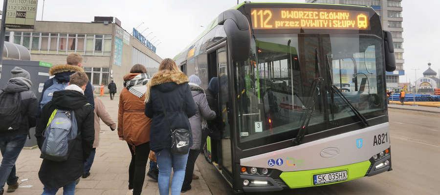 autobus nr 112 Olsztyn