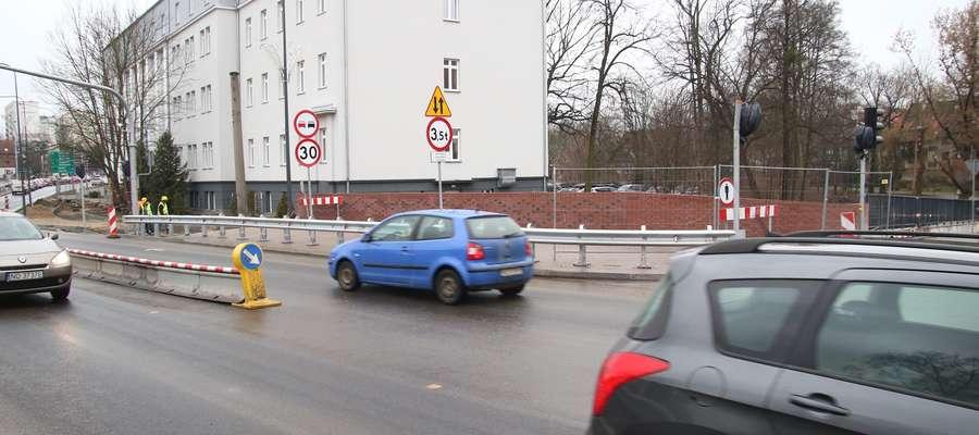 Ulica Pieniężnego w Olsztynie po remoncie
