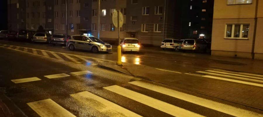 Do jednego z potrąceń doszło na ul. Grunwaldzkiej w Iławie