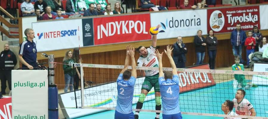 Indykpol AZS Olsztyn wygrał w poniedziałek z Łuczniczką Bydgoszcz