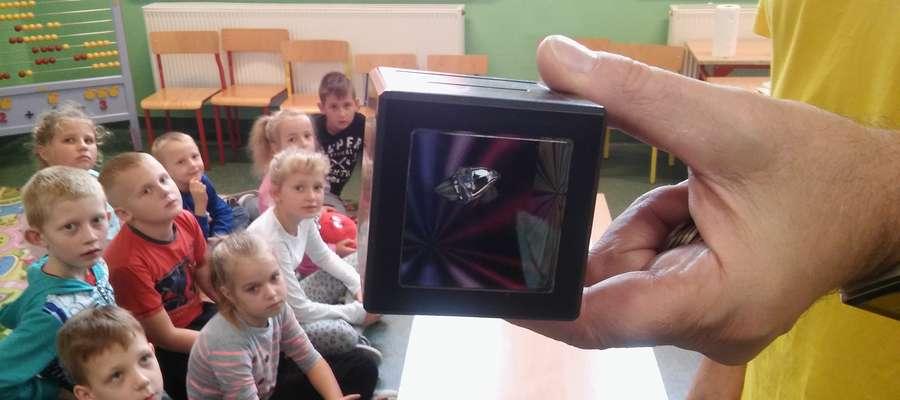 Uczniowie z Krotoszyn podczas zajęć