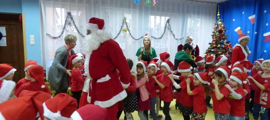 Mikołaj nie zapomniałteż o przedszkolakach