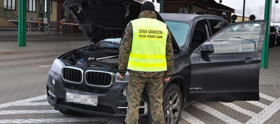 Zatrzymane w Grzechotkach BMW X5