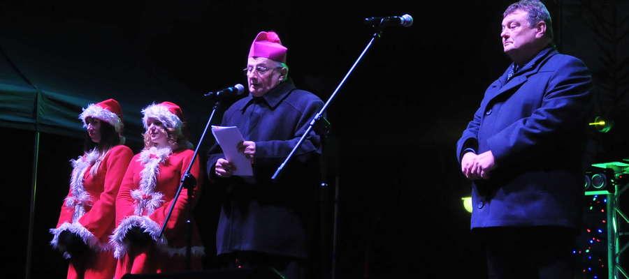 Życzenia bożonarodzeniowe składają prezydent Elbląga oraz biskup elbląski