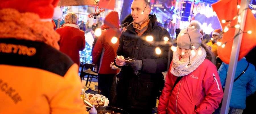 Jarmark świateczy w Biskupcu odbywa się od dziewięciu lat