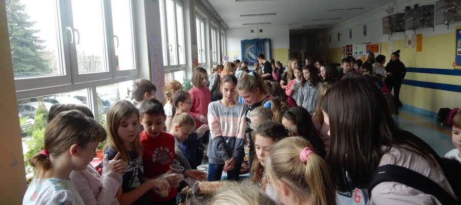 Zbiórka w Szkole Podstawowej nr 22 w Olsztynie
