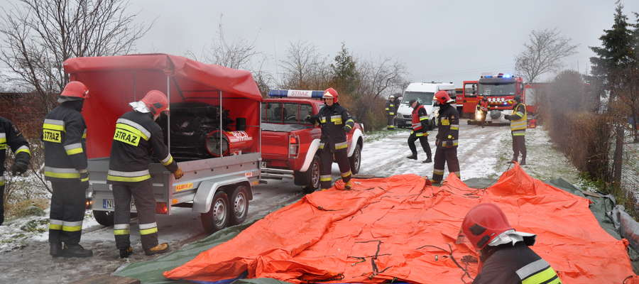 """Akcja strażaków """"Zima 2017"""""""