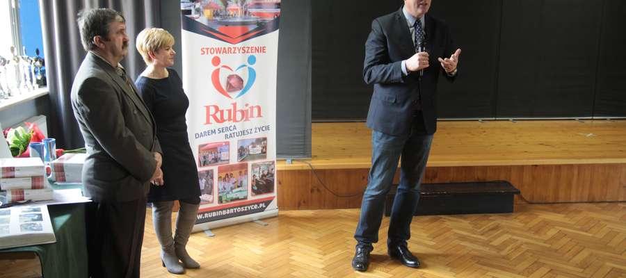 Tegoroczną działalność Rubin podsumował podczas konferencji w Młodzieżowym Domu Kultury