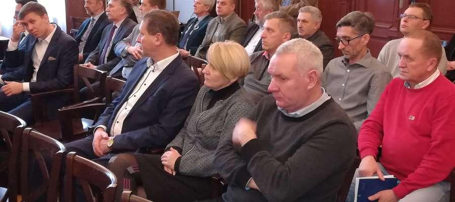 W konferencji wzięli udział m.in. przedstawiciele miejskich instytucji