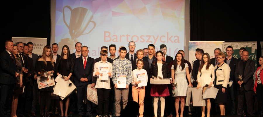 Sportowcy nagrodzeni w poprzednim plebiscycie