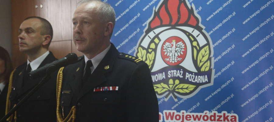 Mirosław Hołubowicz, warmińsko-mazurski komendant wojewódzki PSP nagle odwołany ze stanowiska