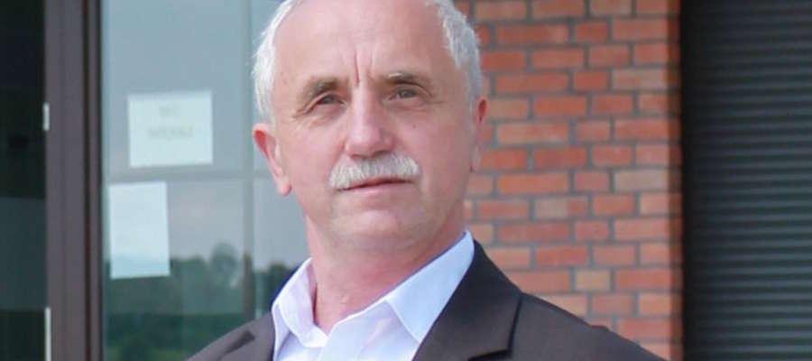 Burmistrz miasta i gminy Ryn Józef Karpiński