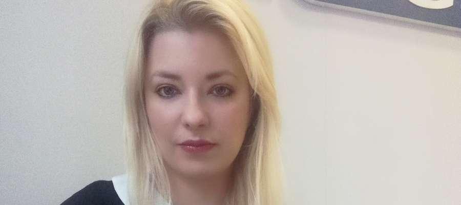 Olga Drzewiczewska, doradca klienta autoryzowanej placówki Operatora Bankowego Fines w Kętrzynie