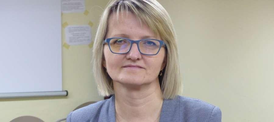 Jolanta Rynkowska, dyrektor Powiatowego Centrum Pomocy Rodzinie w Iławie