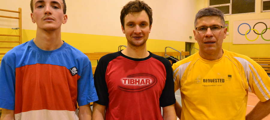 Najlepsza trójka zawodników czwartego turnieju