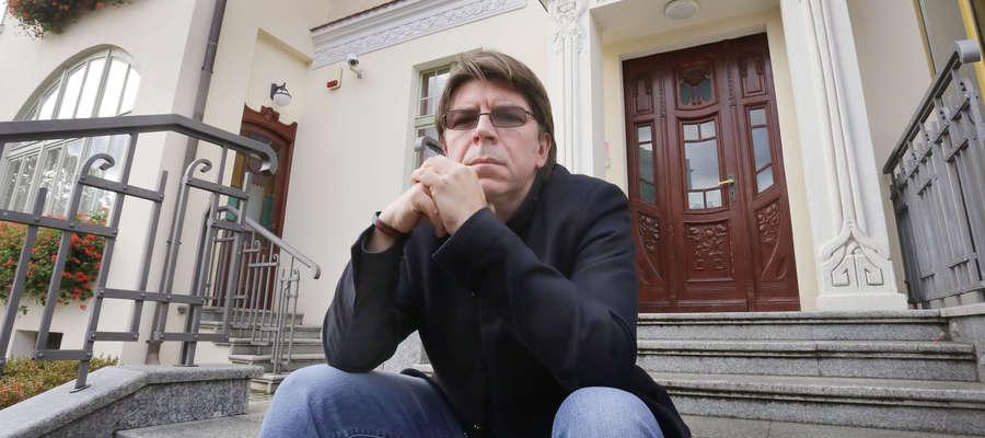 Mariusz Sieniewicz, dyrektor MOK Olsztyn