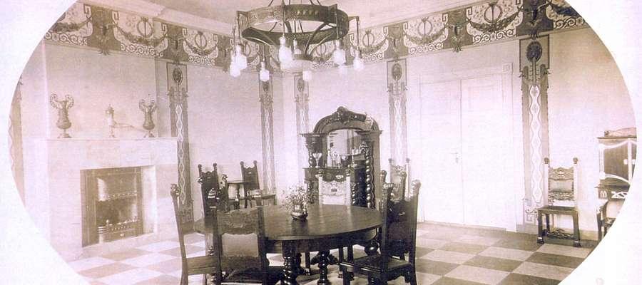 Sień pałacu w Powodowie