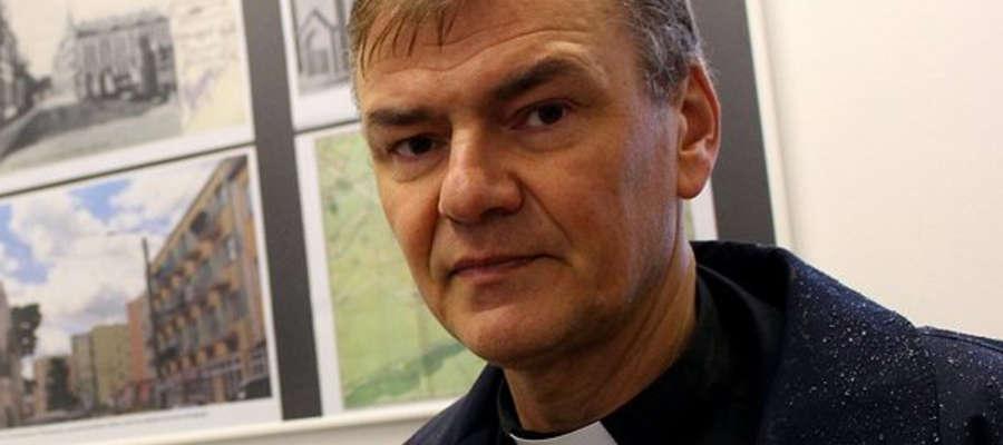 Jedną z pasji nowego biskupa są trudne losy mieszkańców mazurskiej ziemi