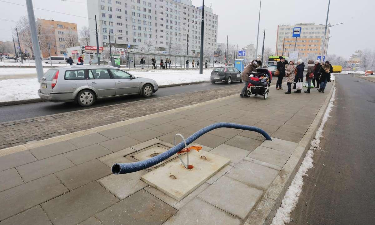 Centrum przesiadkowe  Olsztyn-oddano częściowo centrum przesiadkowe koło dworca PKP