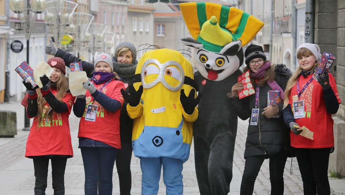 WOŚP 2018  Olsztyn- Wielka Orkiestra Świątecznej Pomocy po raz kolejny gra w Olsztynie - full image