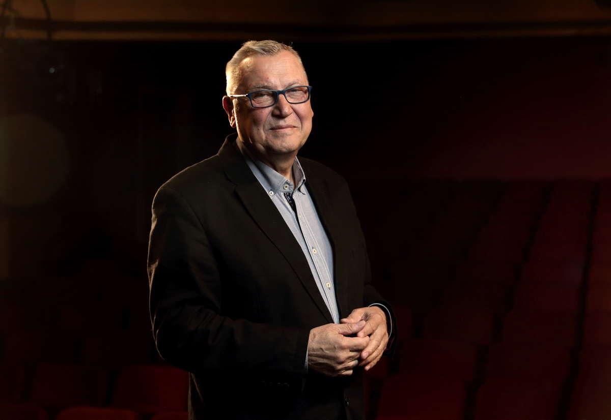 Janusz Kijowskie, dyrektor Teatru Jaracza - full image