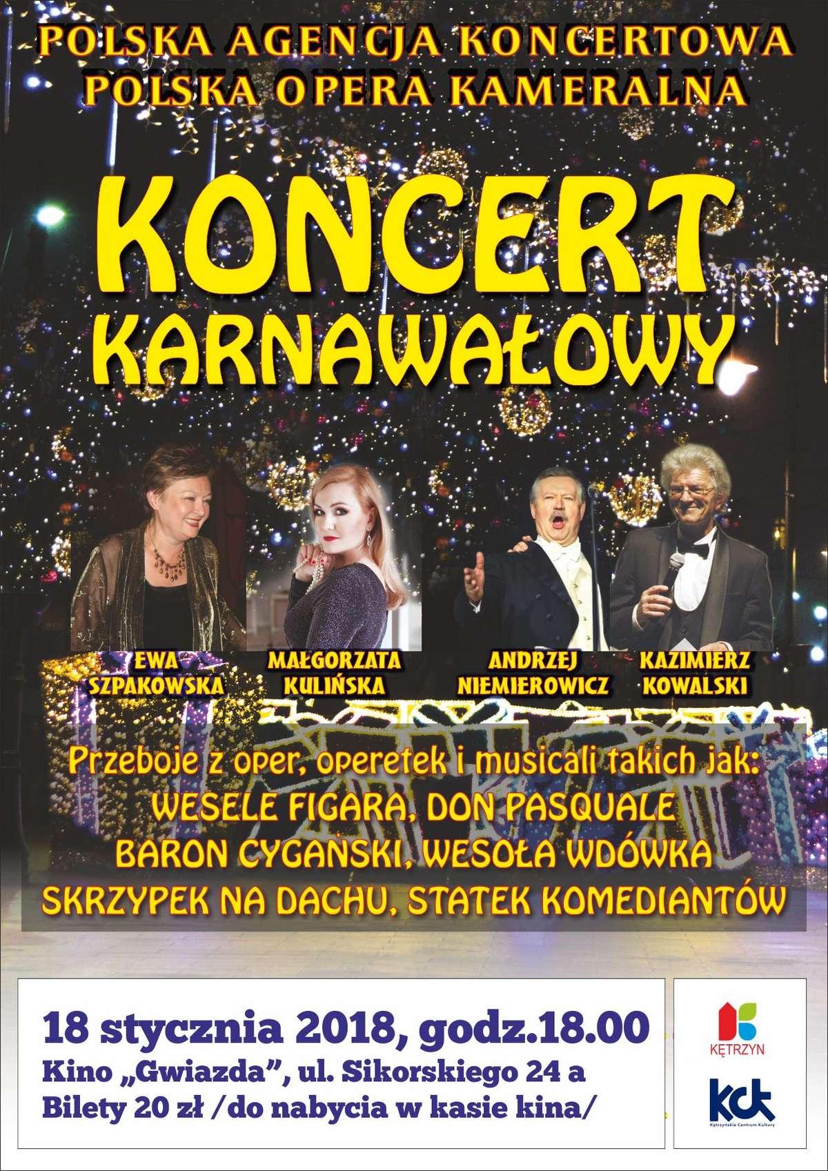 """Koncert Karnawałowy """"W krainie uśmiechu"""" - full image"""