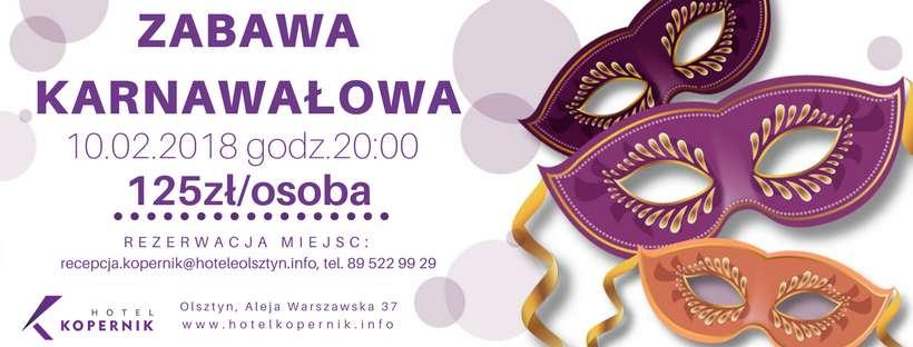 Niezapomniana zabawa karnawałowa w Olsztynie - full image