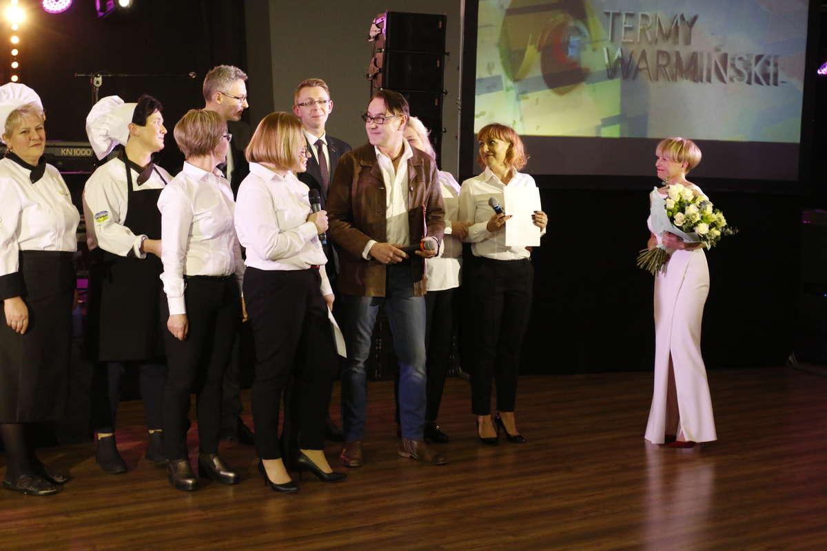 Prezes Elżbieta Lendo i pracownicy Term Warmińskich