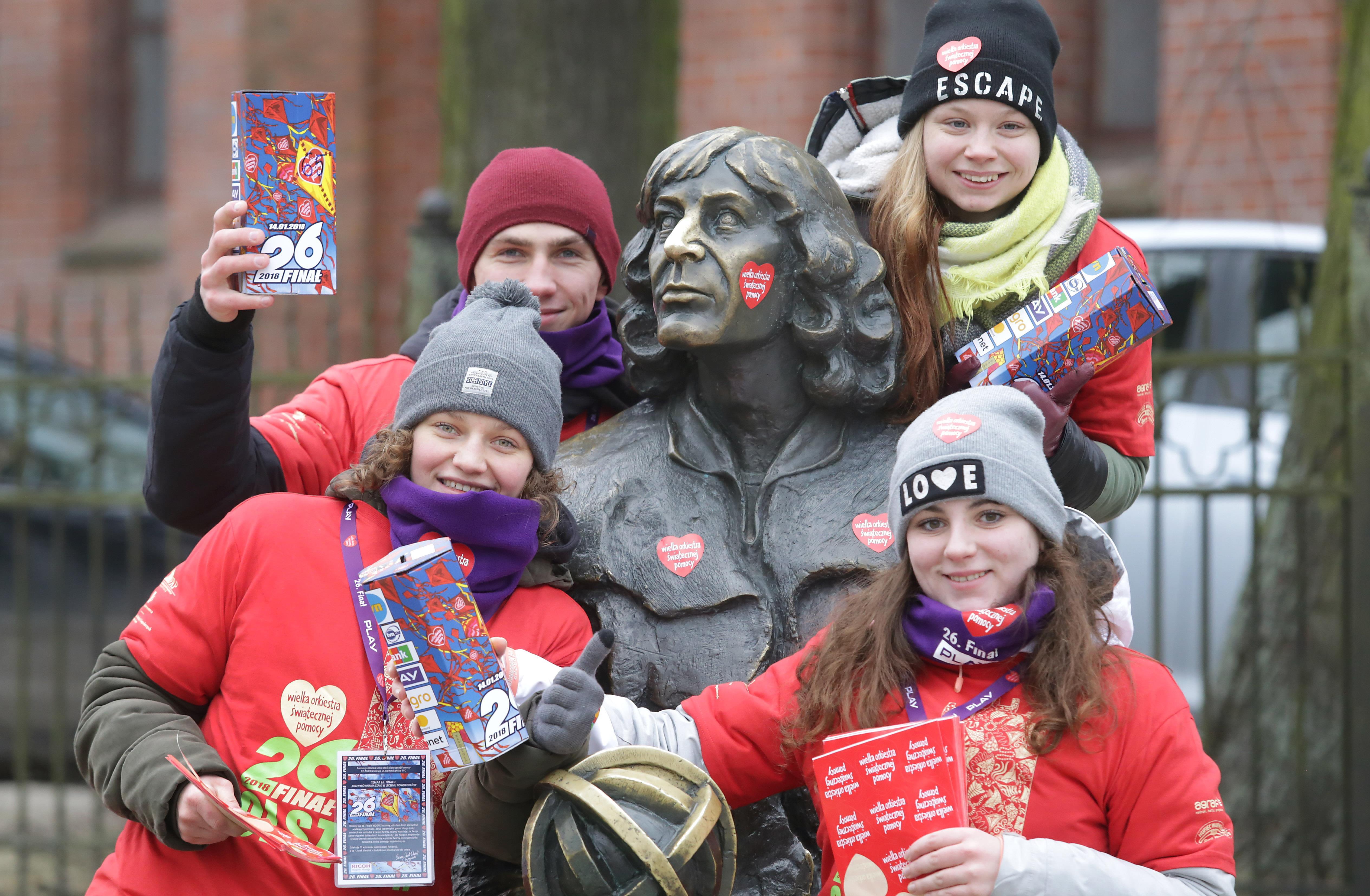WOŚP 2018  Olsztyn- Wielka Orkiestra Świątecznej Pomocy po raz kolejny gra w Olsztynie