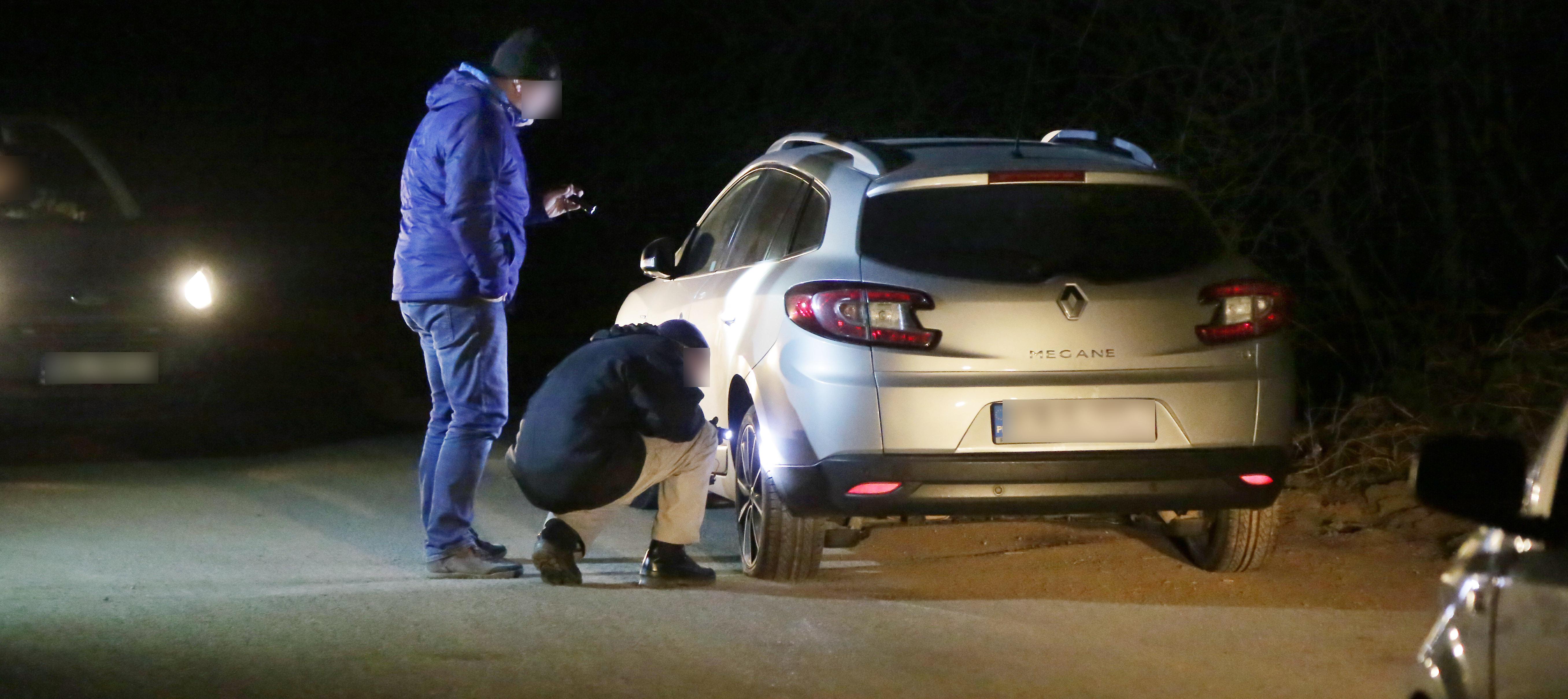 Akcja policji - 12 stycznia 2018 r.. Poszukiwania uciekających podejrzanych