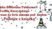 Ferie dla najmłodszych w lubawskiej bibliotece