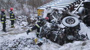 Śmiertelny wypadek pod Olsztynem. Zablokowana DK 51 [ZDJĘCIA, WIDEO]