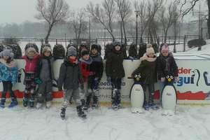 Sporty zimowe- nauka jazdy na łyżwach