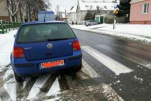 """Kolejny """"mistrz parkowania"""" w Olsztynie"""