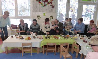 Życzenia dla babć i dziadków płynące z lubawskiego żłobka