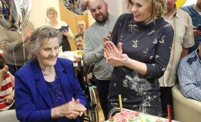 Pani Maria skończyła 100 lat